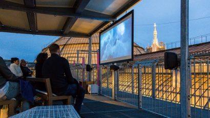 cinema sui tetti