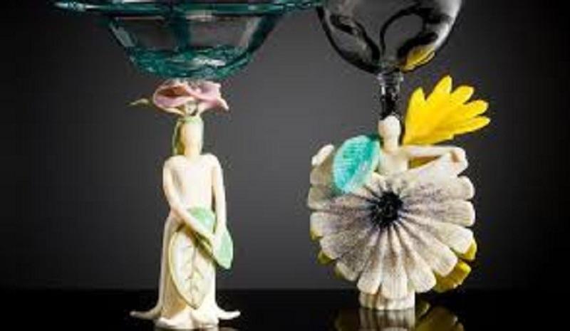 Fiori di vetro dalla collezione Bersellini