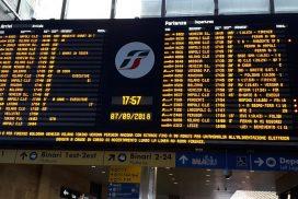 sciopero treni milano venerdì