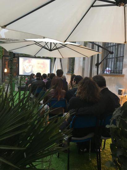 cinema bianchini in giardino
