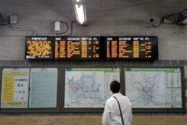 sciopero dei treni a Milano