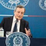Draghi: il Governo prende un rischio ragionato, riapriamo osservando le regole