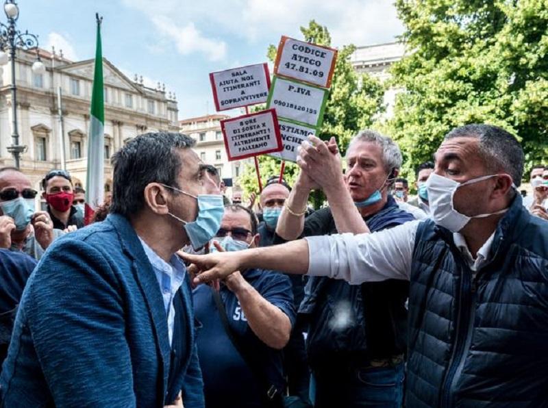 manifestazioni commercianti