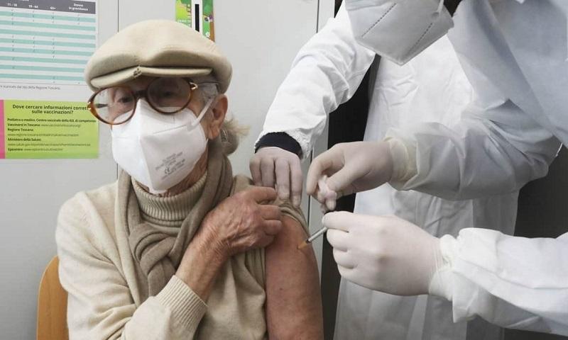 volontari campagna vaccinale